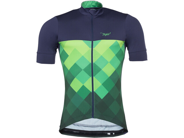 Triple2 Velozip Performance Maillot Homme, online lime